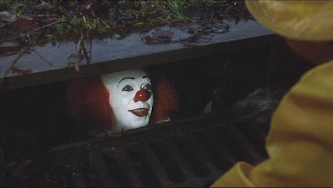 Pennywise in the sewer